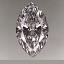 Marquise Cut Diamond 0.58ct F VVS2