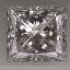 Princess Cut Diamond 0.82ct F SI1