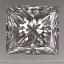 Princess Cut Diamond 0.71ct H VS2