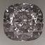Cushion Cut Diamond 0.80ct D SI1