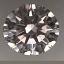 Round Brilliant Cut Diamond 0.62ct I VS2