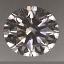 Round Brilliant Cut Diamond 0.52ct G SI1