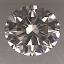Round Brilliant Cut Diamond 0.26ct K VS2