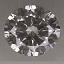 Round Brilliant Cut Diamond 0.27ct I SI2