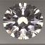 Round Brilliant Cut Diamond 0.55ct D IF