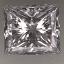 Princess Cut Diamond 0.80ct D VVS1