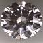 Round Brilliant Cut Diamond 1.01ct D VVS1