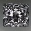 Princess Cut Diamond 0.50ct F I1
