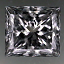 Princess Cut Diamond 0.51ct E SI2