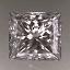 Princess Cut Diamond 0.52ct F SI2