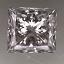 Princess Cut Diamond 0.55ct E SI1