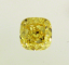 Cushion Cut Diamond 2.00ct Fancy Vivid Yellow VVS1