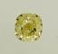 Cushion Cut Diamond 1.34ct Fancy Yellow VS2