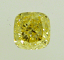 Cushion Cut Diamond 1.33ct Fancy Yellow VS2