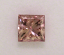 PInk Princess Cut Diamond