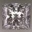 Princess Cut Diamond 1.01ct D VVS1