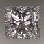 Princess Cut Diamond 0.83ct E IF