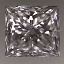 Princess Cut Diamond 0.60ct E SI1
