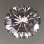Round Brilliant Cut Diamond 0.30ct H SI1