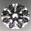 Round Brilliant Cut Diamond 1.10ct M IF