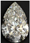 Pear Shape Diamond 0.91ct E VS2