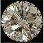 Round Brilliant Cut Diamond 0.81ct - M SI2