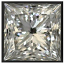 Princess Cut Diamond 1.35ct H SI1