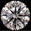 Round Brilliant Cut Diamond 1.36ct J VS1