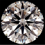 Round Brilliant Cut Diamond 1.22ct J VS1