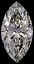 Marquise Cut Diamond 1.08ct I VS2