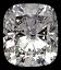 Cushion Cut Diamond 0.36ct D VS1
