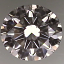 Round Brilliant Cut Diamond 0.75ct E VS2