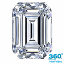 merald Cut Diamond 1.52ct G SI1