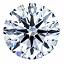 Round Brilliant Cut Diamond 0.59ct D SI2