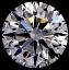 Round Brilliant Cut Diamond 2.54ct G VS2