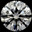Round Brilliant Cut Diamond 0.95ct I VS2