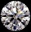 Round Brilliant Cut Diamond 0.48ct D IF