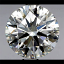 Round Brilliant Cut Diamond 0.68ct G VVS1