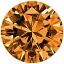 Fancy Orange Brown 2.06ct Round Diamond  VS1
