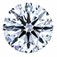 Round Brilliant Cut Diamond 1.28ct E SI1