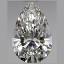 Pear Shape Diamond 0.53ct F VVS1