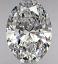 FS 865 - Oval Cut Diamond 1.02ct D VS1