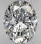 Oval Diamond 1.71ct D VS2