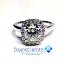 Halo Diamond Engagement Ring FS042