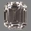 Emerald  Cut Diamond FS 014A