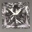 Princess Cut Diamond 0.50ct G VS2