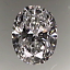 Oval Shape Diamond 1.09ct F SI1