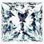 Princess Cut Diamond 1.00ct D IF