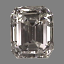 A 161 Emerald Cut Diamond