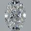 Oval Diamond 1.01ct D SI1 FS-1170